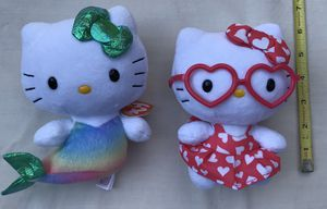 Hello Kitty Ty Beanie Babies for Sale in Raleigh, NC