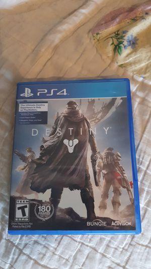 Destiny ps4 for Sale in East Wenatchee, WA