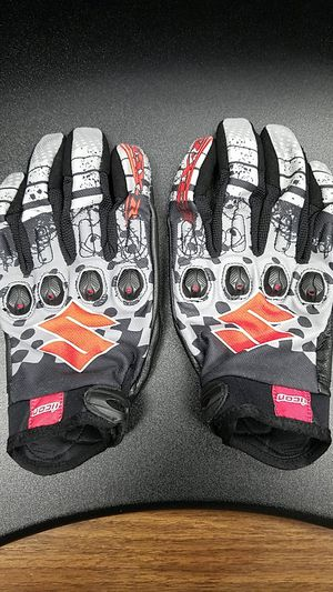 Icon Suzuki GSX-R motorcycle gloves for Sale in New Albany, OH