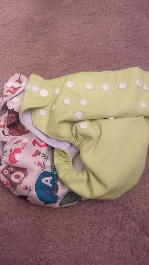 Cloth Diapers $10 for both!! for Sale in Apex, NC