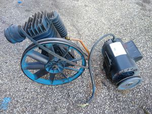 Air Compressor motor with electric for Sale in Greensburg, PA