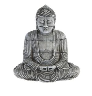"Top Fin Buddha Bubbler Aquarium Ornament, Gray - 6"" x 2"" x 4"" = Perfect in tanks @ least 10 Gallons - New for Sale in Boynton Beach, FL"