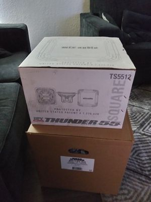12 inch subwoofer box for Sale in Mesa, AZ