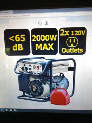 Generator 2000 watt Sportsman New for Sale in Rockledge, FL