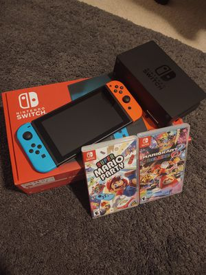 New Nintendo Switch With 2 Games!! for Sale in Seminole, FL
