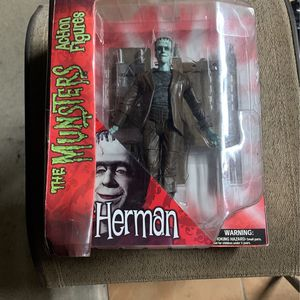"2011 DIAMOND SELECT TOYS 8"" THE MUNSTERS HERMAN MUNSTER ACTION FIGURE RARE for Sale in Escondido, CA"