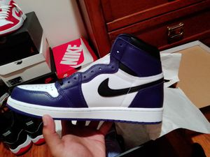Jordan 1 high court purple for Sale in Redford Charter Township, MI