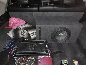 Alpine x kicker amp for Sale in Tempe, AZ