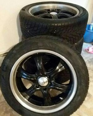 6 Lug BOSS Rims with tires 255/50r20 for Sale in Durham, ME