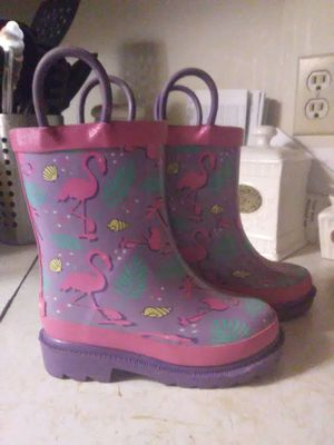 Toddler Girls rain boots size 5/6 for Sale in North Tonawanda, NY
