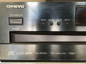 Onkyo 6 disc changer. $45.00 OBO for Sale in Reynoldsburg, OH