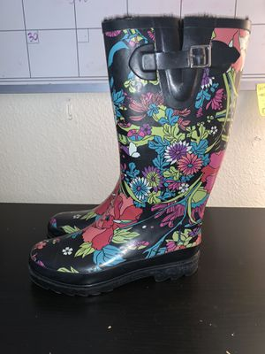 Floral rain boots for Sale in San Diego, CA