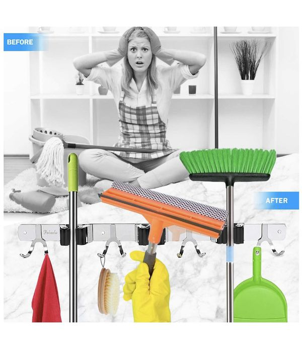 NEW Mop and broom holder