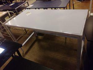 Large White Metal Desk for Sale in Phoenix, AZ