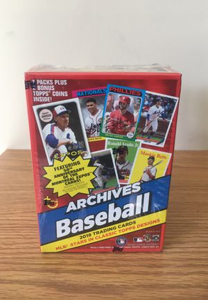 2019 Topps Archives baseball cards for Sale in Levittown, PA