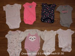 0-3 month babygirl clothes for Sale in Heyworth, IL