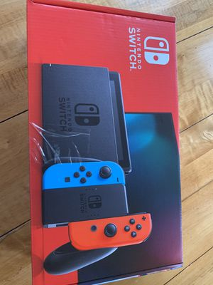 Nintendo Switch with Neon Blue and Neon Red Joy‑Con - HAC-001(-01) for Sale in McDonald, PA