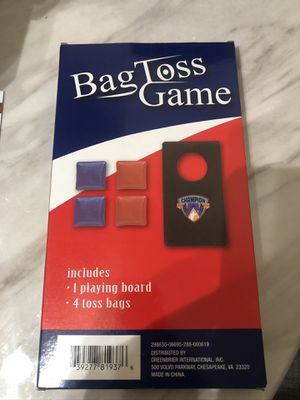 Cornhole mini bag toss game for Sale in San Leandro, CA