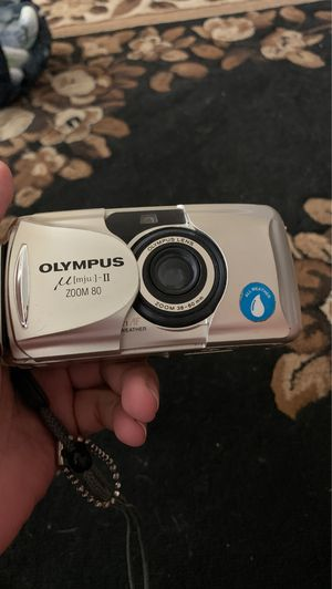 Olympus Stylus Epic Zoom 80 35mm Point Shoot Film Camera Tested Works Zoom for Sale in Lemoore, CA