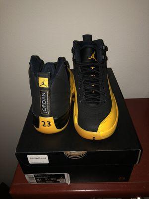 Nike Air Jordan 12 Retro University Gold Sz 4.5 GS for Sale in Upland, CA