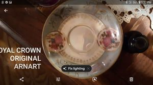 ANTIQUE ROYAL CROWN CUP & SAUCER for Sale in Harrisville, MS