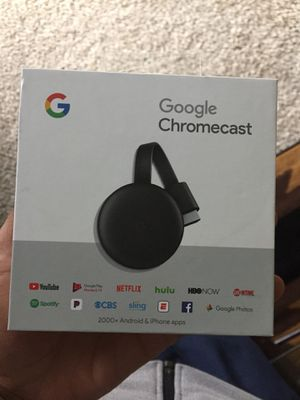 Google chrome cast for Sale in Fort Wayne, IN