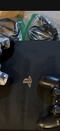 Playstation 4 PRO With 2 Controllers And All Cables for Sale in Monaca,  PA