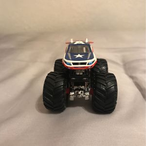 Hot Wheels Monster Truck Captain America for Sale in Santa Fe Springs, CA