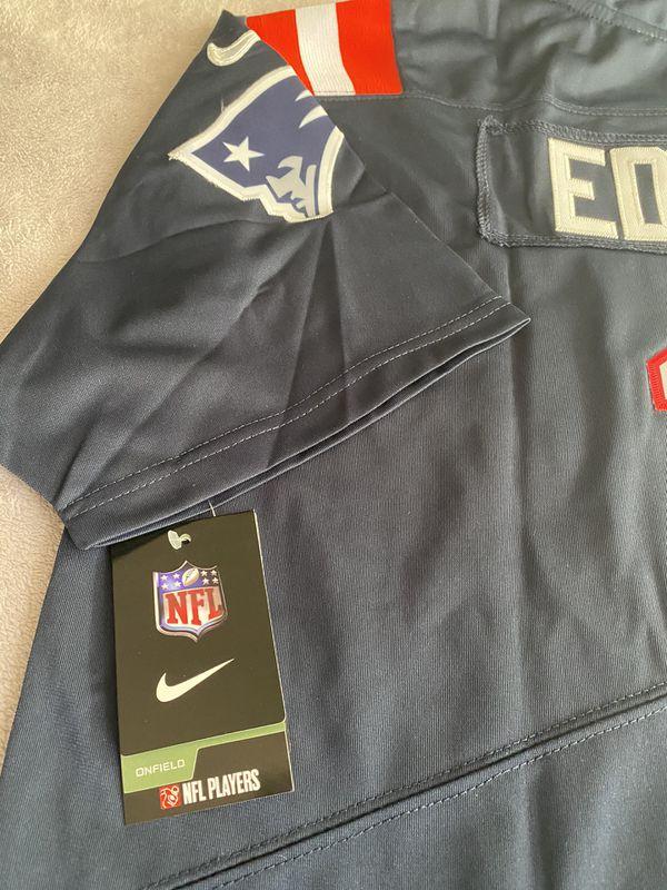 Julian Edelman New England Patriots Blue Jersey New W/Tags Size XL