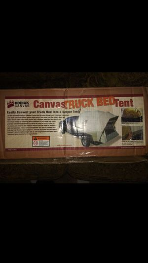 Canvas truck bed tent for Sale in Bakersfield, CA