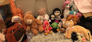 Lot of stuffed animals for Sale in Murfreesboro, TN