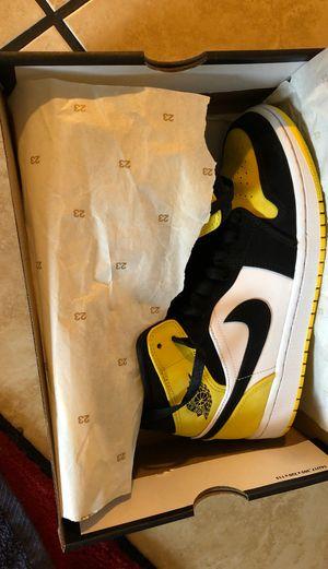 Air Jordan 1 mid yellow toes for Sale in Phoenix, AZ