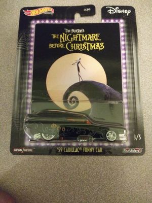 Hot Wheels Nightmare Before Christmas Real Riders for Sale in Pflugerville, TX