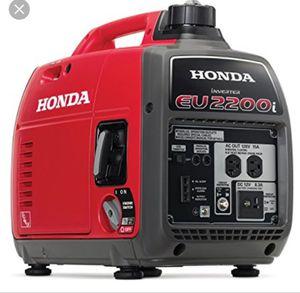 Generator Honda eu2200i inverter generator for Sale in Lake Panasoffkee, FL