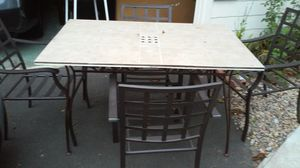 Table four chairs for Sale in Bridgeport, CT