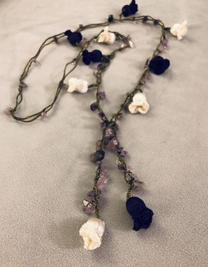 Lariat Necklace with Amethyst for Sale in Santa Ana, CA