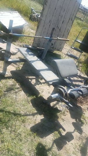 Weight bench for Sale in Sanger, CA