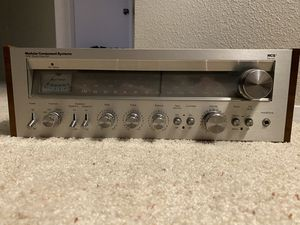 MCS 3230 Vintage Stereo Receiver with Manual for Sale in Bothell, WA