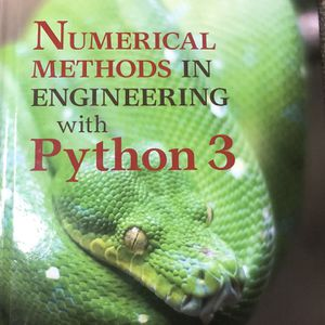 Numerical Methods In Engineering With Python 3 for Sale in Kent, WA