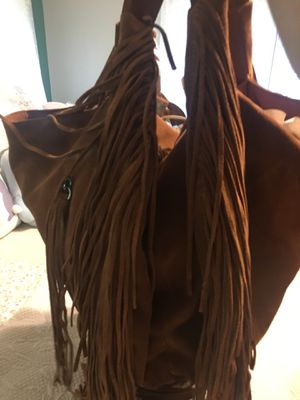 """Johnny Was"" fringed hobo bag large for Sale in Lockport, NY"