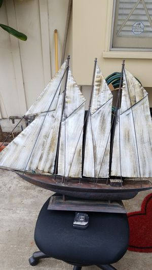Metal sailboat nautical decor for Sale in Whittier, CA