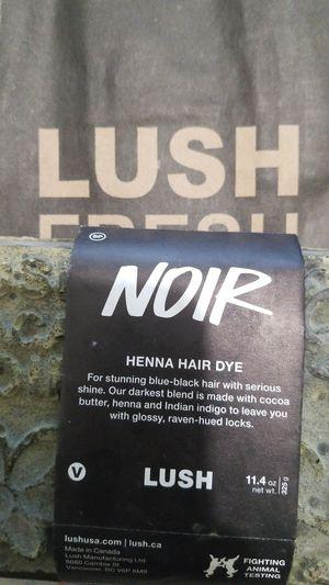 Lush Henna hair dye - Black for Sale in Santa Clarita, CA