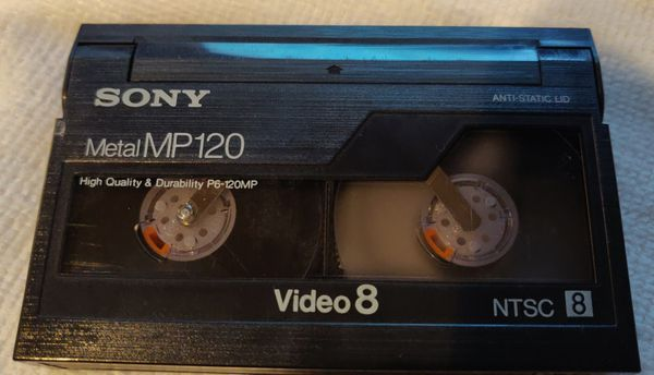 8 MM video tape conversion