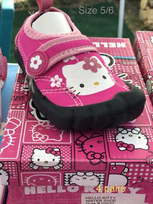 Hello Kitty water shoes girls for Sale in Bellflower, CA