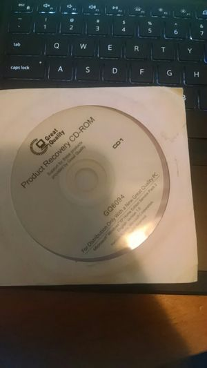 Product Recovery CD Windows XP for Sale in Vancouver, WA