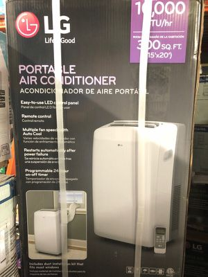 New 10,000 btu LG portable air conditioner for Sale in Atlanta, GA