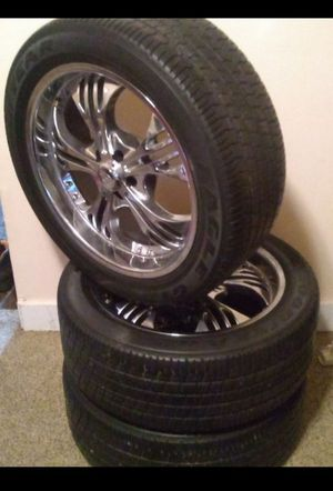 20in Rims with tires! for Sale in Mount Joy, PA