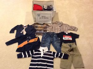 Baby boy clothes 12-18 months. $3-$4/item for Sale in Rockville, MD