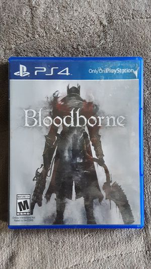 Bloodborne PS4 for Sale in Hermon, ME