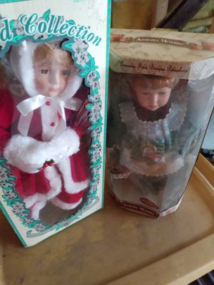Holiday collectable vintage dolls new in box for Sale in Hutchinson, KS